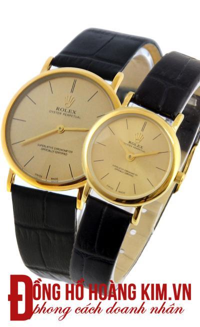 mua đồng hồ đôi rolex chính hãng