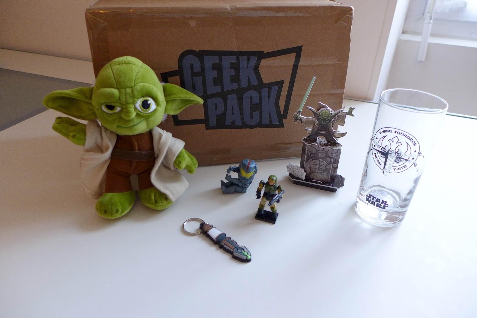 contenu geek pack