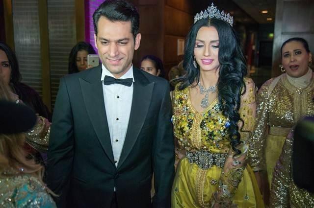 الجهوية 24 - مراد يلدريم وإيمان الباني يحتفلان بعيد زواجهما الأول