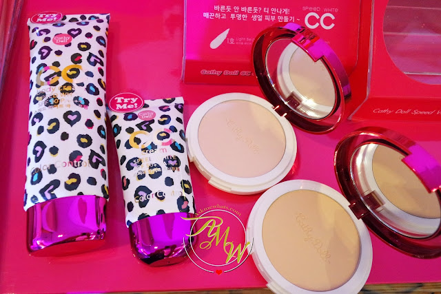 a photo of Cathy Doll CC Cream & Powder Pact