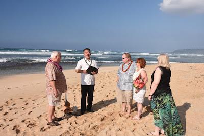 Papailoa Beach Wedding