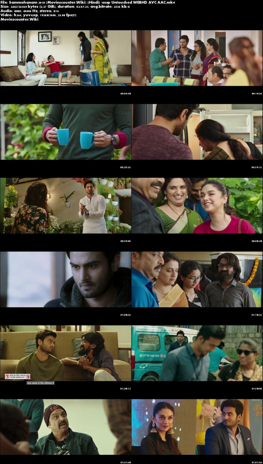 Screen Shots Sammohanam 2018 Hindi Dubbed HD 1080p