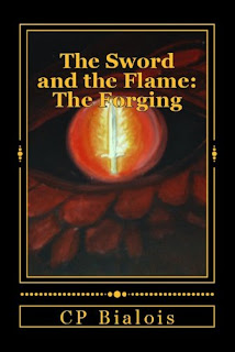 The Sword and the Flame: The Forging Book Cover