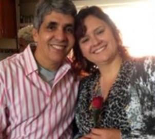 Misioneros brasileños Sivio y  Rose Silva