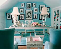 Decoración con color turquesa