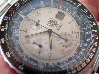 Cocok untuk Anda yang sedang mencari jam tangan Pilot Automatic Chronograph  yang langka... TAG HEUER CHRONOGRAPH PILOT EDITION - AUTOMATIC. 10c7185c54