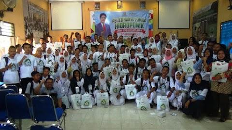 Pelatihan Hidroponik Antar Sekolah se-Jawa Timur