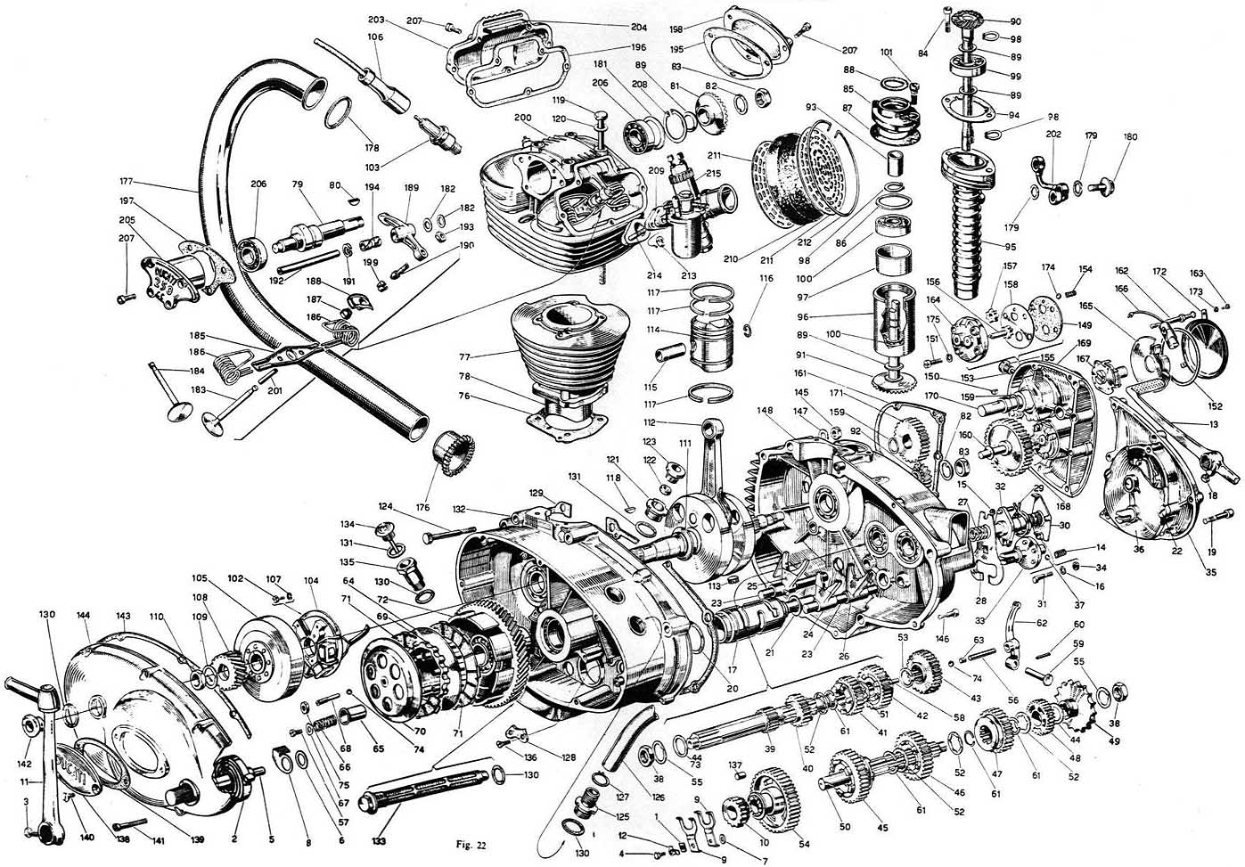 Villiers 2 Stroke Engine Manual Today Guide Trends Sample Cycle Diagram Exploded Of Motorcycle Autos Post Diesel Animation