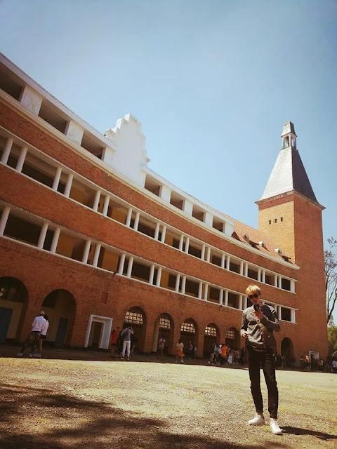 Hình ảnh chụp tại trường Đại Học Đà Lạt