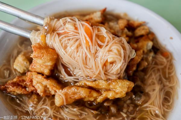 台中北屯|東東素食東山店|麵線糊|臭豆腐|平價素食小吃美食