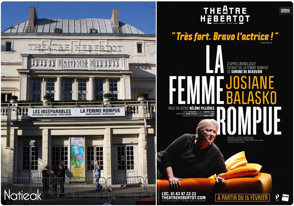 La femme rompue de Simone De Beauvoir Josiane Balasko