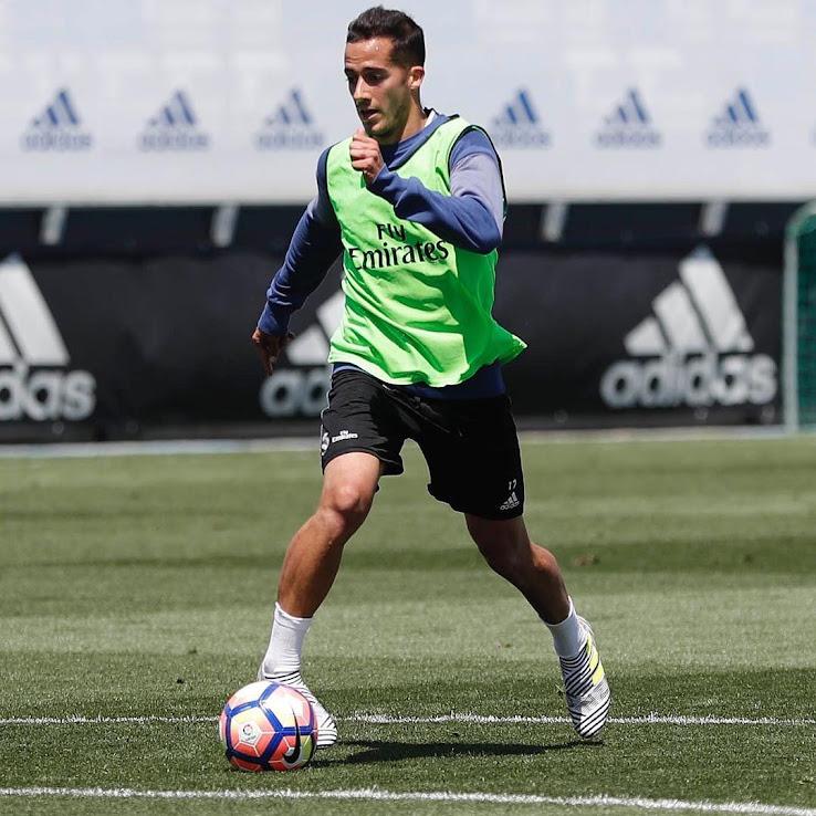 Lucas Vasquez in allenamento