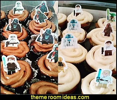 Lego Star Wars Stand Up Edible Cake Toppers