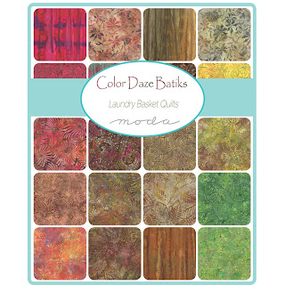 Moda Color Daze Batiks Fabric by Laundry Basket Quilts for Moda Fabrics