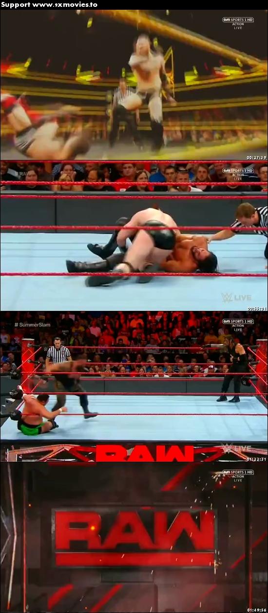 WWE Monday Night Raw 31 July 2017 HDTV 480p 500mb