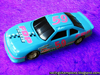 Andy Belmont #59 FDP Brakes Ford Racing Champions 1/64 die-cast NASCAR blog metal arrester