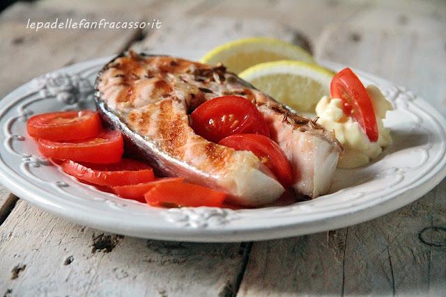 come preparare il salmone alla griglia