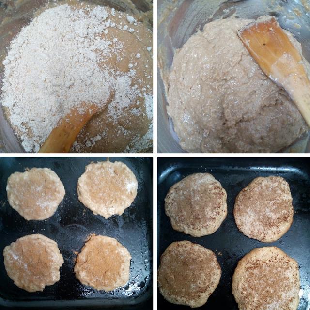 Tortas integrales de espelta y canela