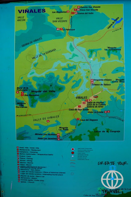 mapa vinales