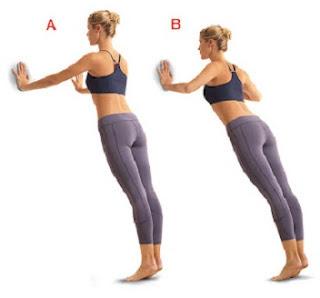 cara-mengencangkan-lengan-dengan-close-grip-wall-push-up