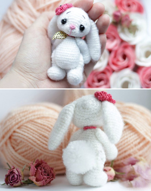 Little Crochet Bunny - Free Pattern