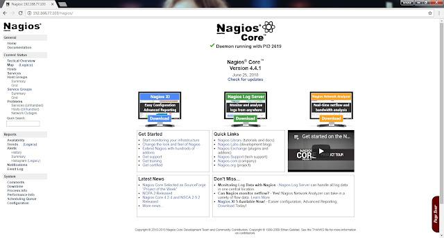 Cara Install Nagios Core 4.4 di Ubuntu Server 18.04 LTS