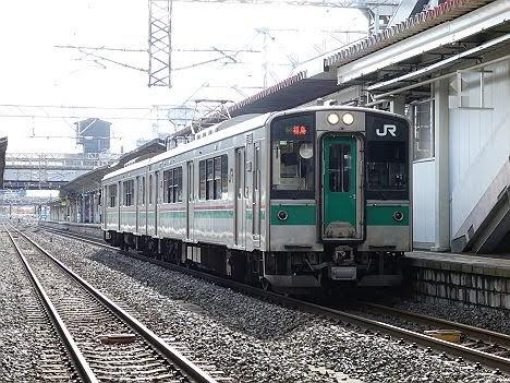 東北本線 福島行き1 701系