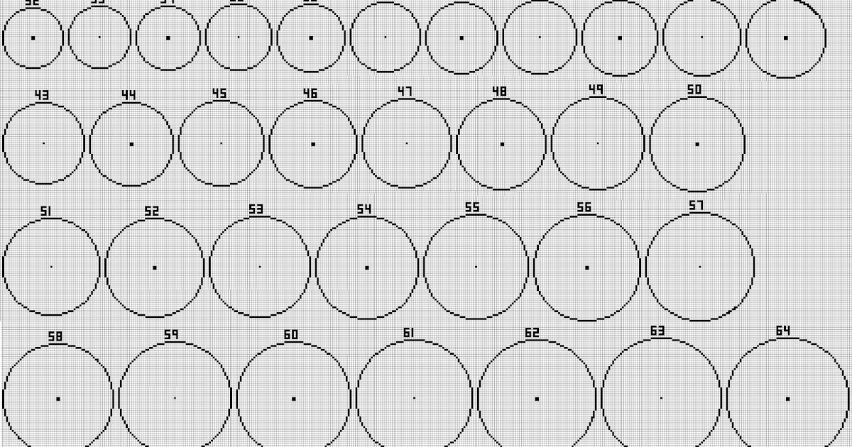 √ Minecraft Pixel Circle / Oval Generator