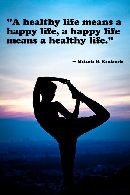 Positive Inspirational Quotes Healthy Life Happy