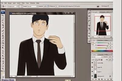 Cara Mudah Merubah Foto Menjadi Anime Kartun Menggunakan Photoshop