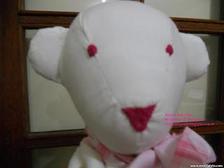 2 - Primeiro urso  de pano