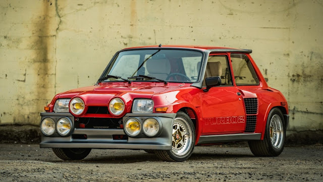 1985 Renault R5 Turbo 2 Evo is coming to auction