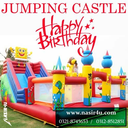 nasir4u com: BIRTHDAY PUPPET SHOW BALLOON DECOR , JUMPING CASTLE