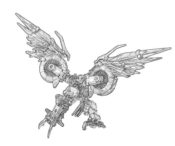 transformers cybertron coloring pages - photo#34