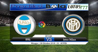 Prediksi SPAL Vs Inter Milan 08/10/2018