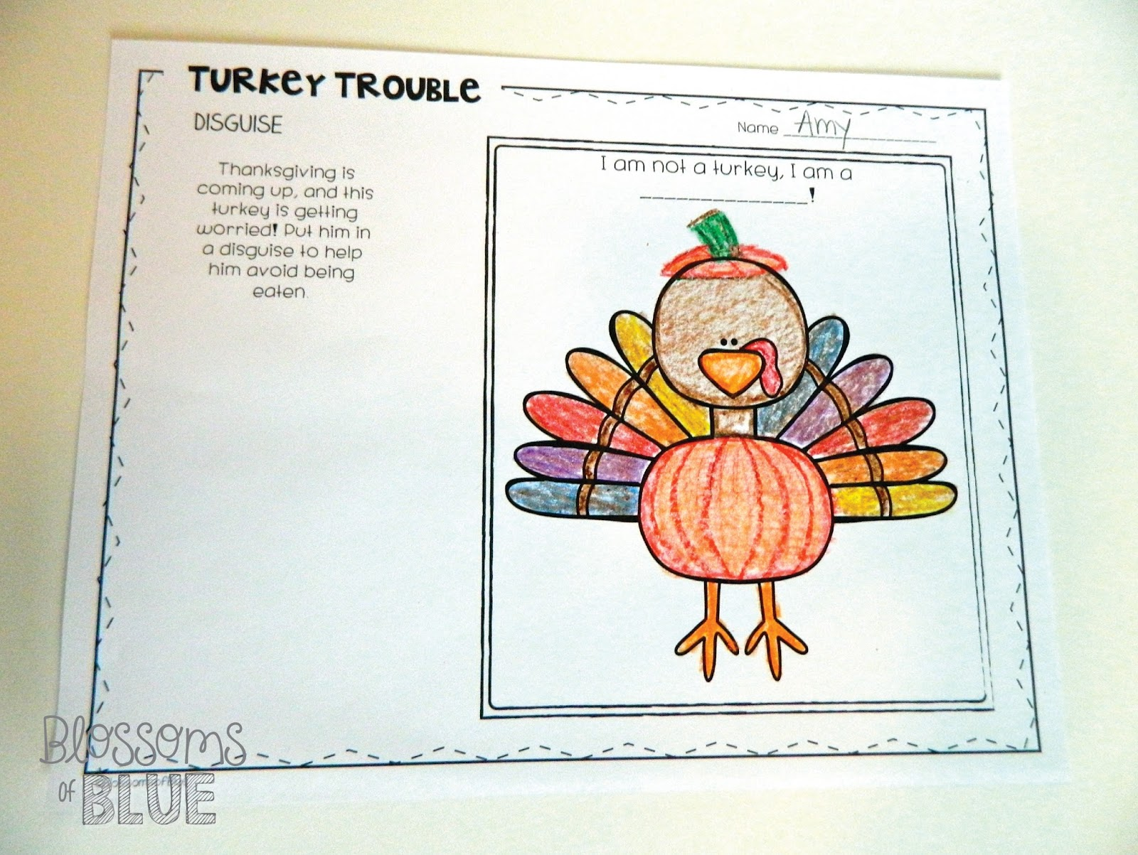 Books And Beyond Turkey Trouble