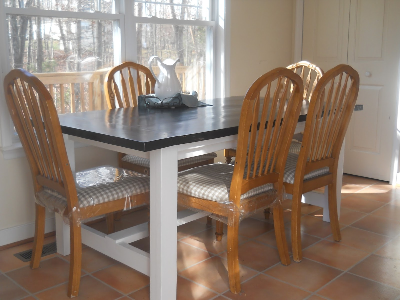 1001 Goals: Kitchen Table and Benches
