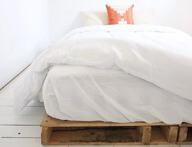 Wood Pallet Bed Frame