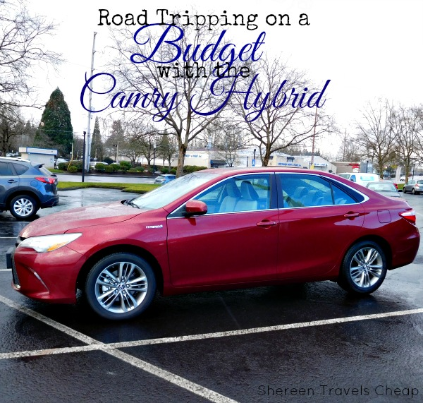 budget road trip // Toyota Camry hybrid
