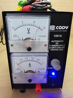 JUAL POWER SUPPLY CODY 1501A