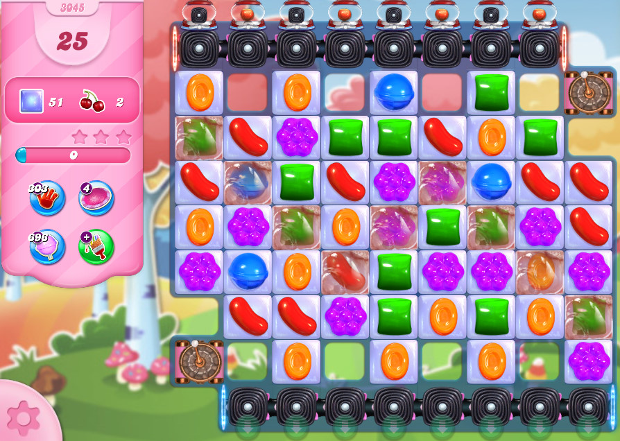 Candy Crush Saga level 3045