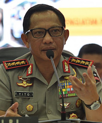 Indonesian National Police chief Tito Karnavian