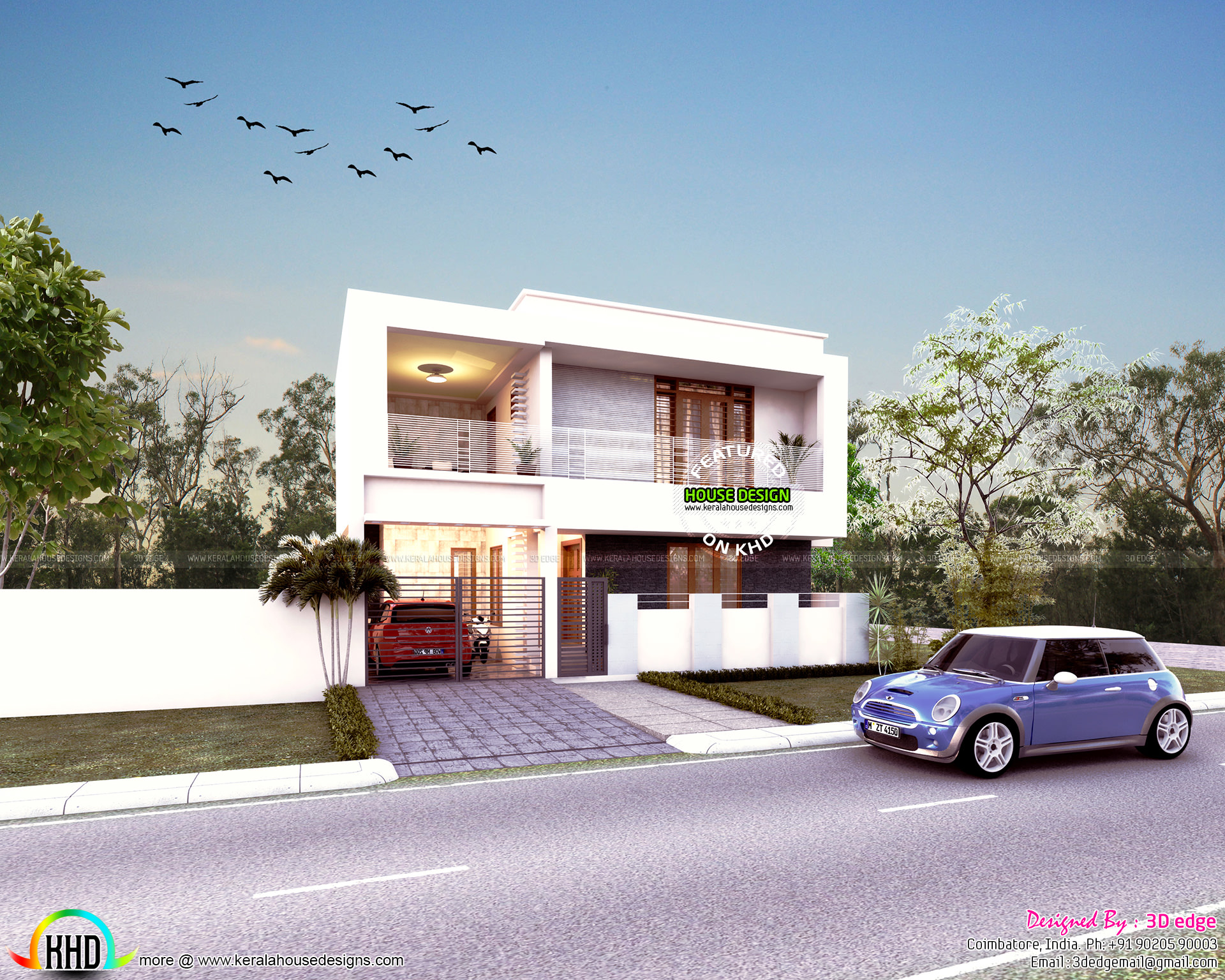 See floor plans read more please follow kerala home design - Design Style Contemporary See Blueprint Floor Plan Facility Details Read More Please Follow Kerala Home Design