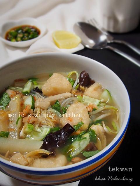 Resep Tekwan Palembang : resep, tekwan, palembang, Tekwan, Palembang, Monic's, Simply, Kitchen