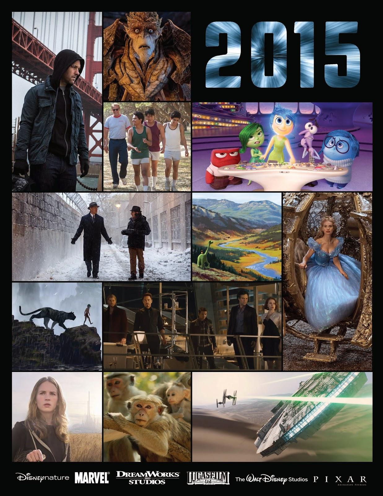 Walt Disney Studios, Pixar, Marvel, DreamWorkks, LucasFilm