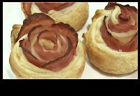 rosas de jamon y queso