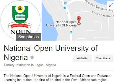Admission at National Open University of Nigeria