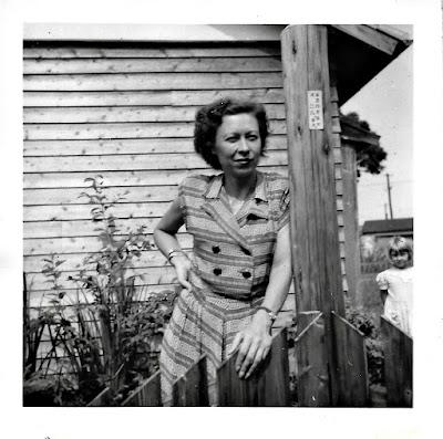 Natalia F. Vasilev in Shinagawa, Tokyo, sometime around 1951.