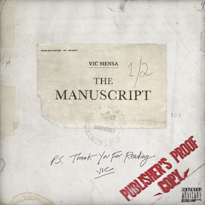 Vic Mensa - The Manuscript (EP) - Album Download, Itunes Cover, Official Cover, Album CD Cover Art, Tracklist