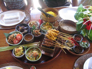 Bali cuisine featuring Sate Lilit by Everett Harper